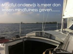 Mindful onderwijs is meer dan